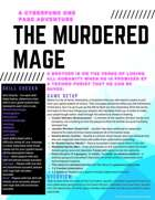 The Murdered Mage - A Cyberpunk One Page Adventure