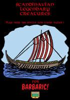 Scandinavian Legendary Creatures for Barbaric!