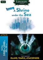 Cthulhu Maps - 013 - A Shrine under the Sea