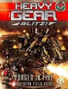 Heavy Gear Blitz! Forged in Fire - Southern Field Guide