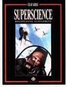 Superscience RPG Sourcebook