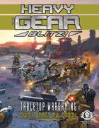 Heavy Gear Blitz! Tabletop Wargaming - Quick Start Rulebook