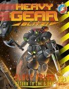 Heavy Gear Blitz! Black Talon - Return to Cat's Eye