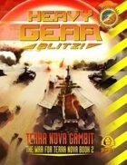Heavy Gear Blitz! Terra Nova Gambit - The War for Terra Nova Book 2