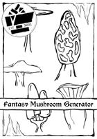 1 Page Generator - Fantasy Mushrooms