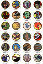 Beasts and Monsters VTT Tokens - Set 1