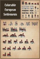 European_Settlements_Pack