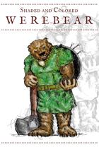 Werebear Character Art