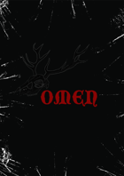 Omen Cards for Forbidden Psalm - miniatures game, inspired by and compatible with MÖRK BORG.