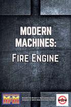 Modern Machines: Fire Engine