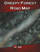 Creepy Forest Road Map