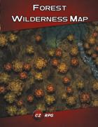 Forest Wilderness Map