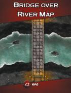 Bridge over River Map