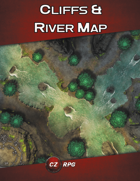 Cliffs & River Map