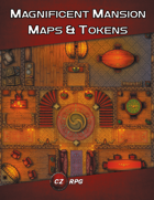 Magnificent Mansion Maps & Tokens