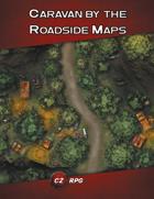 Caravan by the Roadside Map