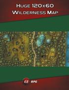 Huge 120x60 Wilderness Map