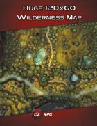 Huge 120x120 Wilderness Map