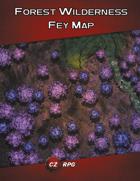 Forest Wilderness - Fey Map
