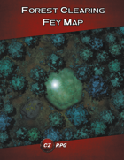 Forest Clearing Fey Map