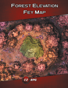 Forest Elevation Fey Map