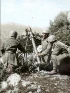 Italian 81mm Modello 35 Mortar 28mm Scale