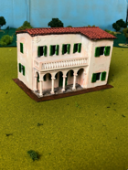 Italian Building with Colonnade 25mm