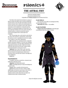 The Order of the Astral Fist