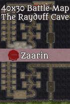 40x30 Fantasy Battle Map - The Rayduff Cave