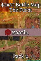 40x30 Fantasy Battle Map - The Farm Pack 2