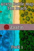 40x30 Fantasy Battle Map - The Beach Pack 1