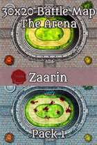 30x20 Fantasy Battle Map - The Arena Pack 1