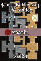40x30 Sci-Fi Battle Map - The Station Pack 1