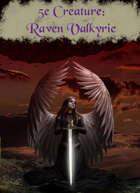Creature - Raven Valkyrie