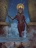 Egyptian Goddess Sekhmet at Temple Karnak