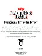 DDAL07-14 Fathomless Pits of Ill Intent