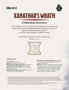 DDAL08-12 Xanathar's Wrath