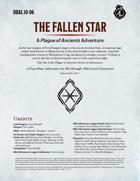 DDAL10-06 The Fallen Star
