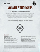 DDAL10-08 Volatile Thoughts
