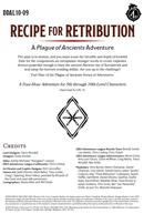 DDAL10-09 Recipe for Retribution