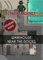 Cthulhu Architect Maps - Warehouse near the Docks - 30 x 35