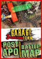 Post apocalyptic Battlemap ☢️ Garage town