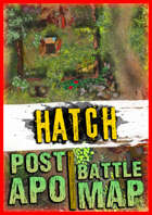 Post-apocalyptic battle map ☢️ Hatch