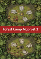 Forest Camp Map Set 2