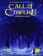 Call of Cthulhu 7th Edition - Keeper's Rulebook
