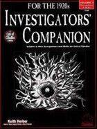 Investigators' Companion, vol. II