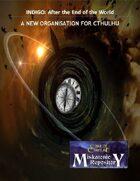 Miskatonic Repository INDIGO: A Time Travel Organisation