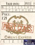 Orient Express tickets