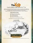 The KID: a guide to playing a Little Rascal in the 7th Sea