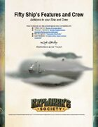 50 Ship's Features and Crew